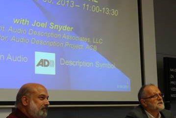 Guvernerka na predavanju Joela Snyderja