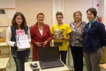 Lions klub Ljubljana Iliria obdaril učence OŠ Sečovlje