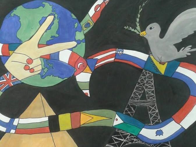 Otvoritev razstave Plakat  miru v Zagorju ob Savi