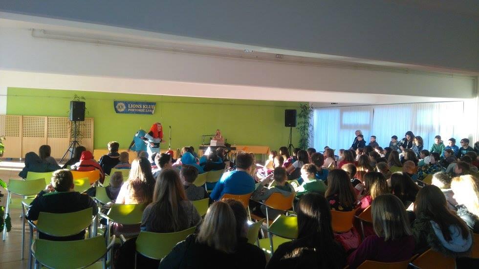 LK Portorož Zarja - Obisk Mladinskega zdravilišča Debeli rtič