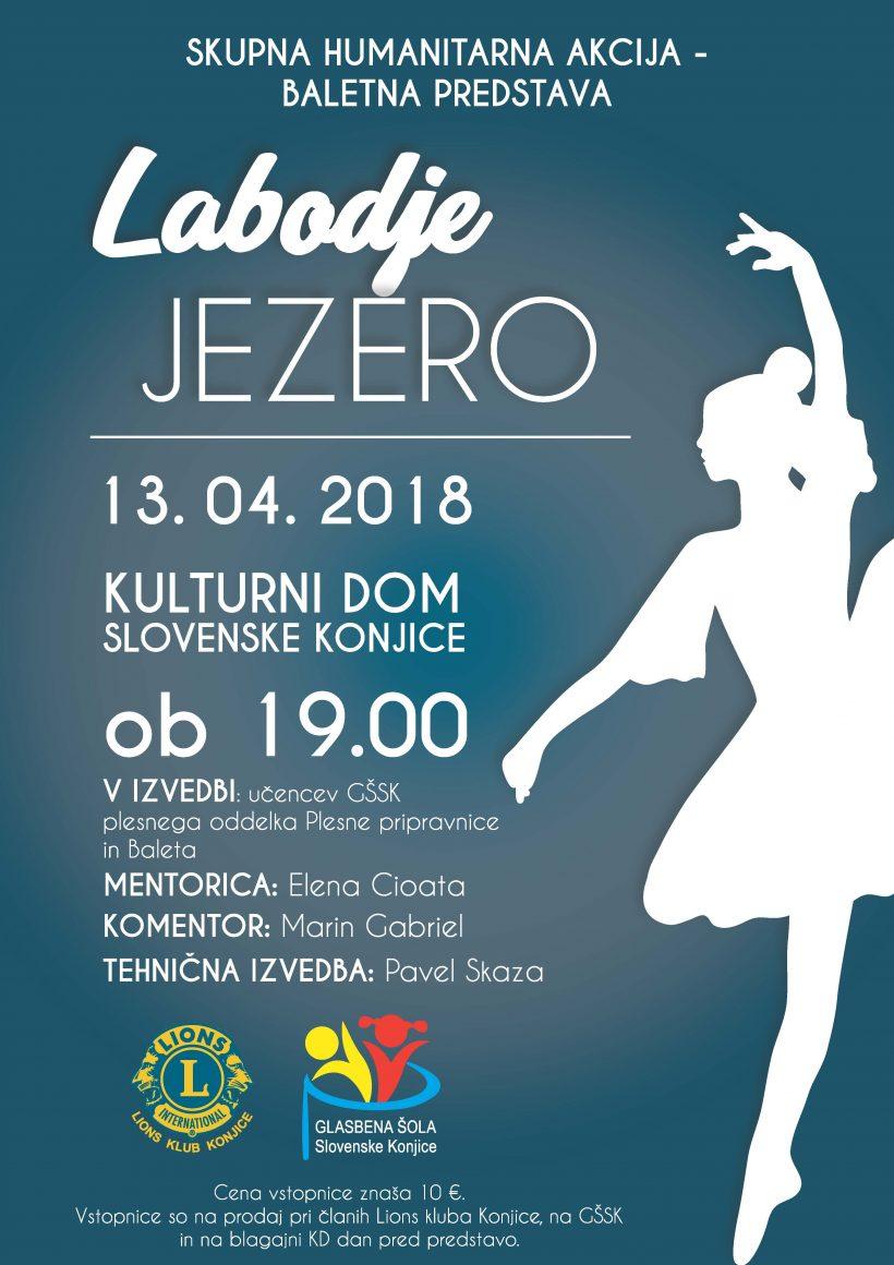 LK Konjice - Balet Labodje jezero na odru Doma kulture