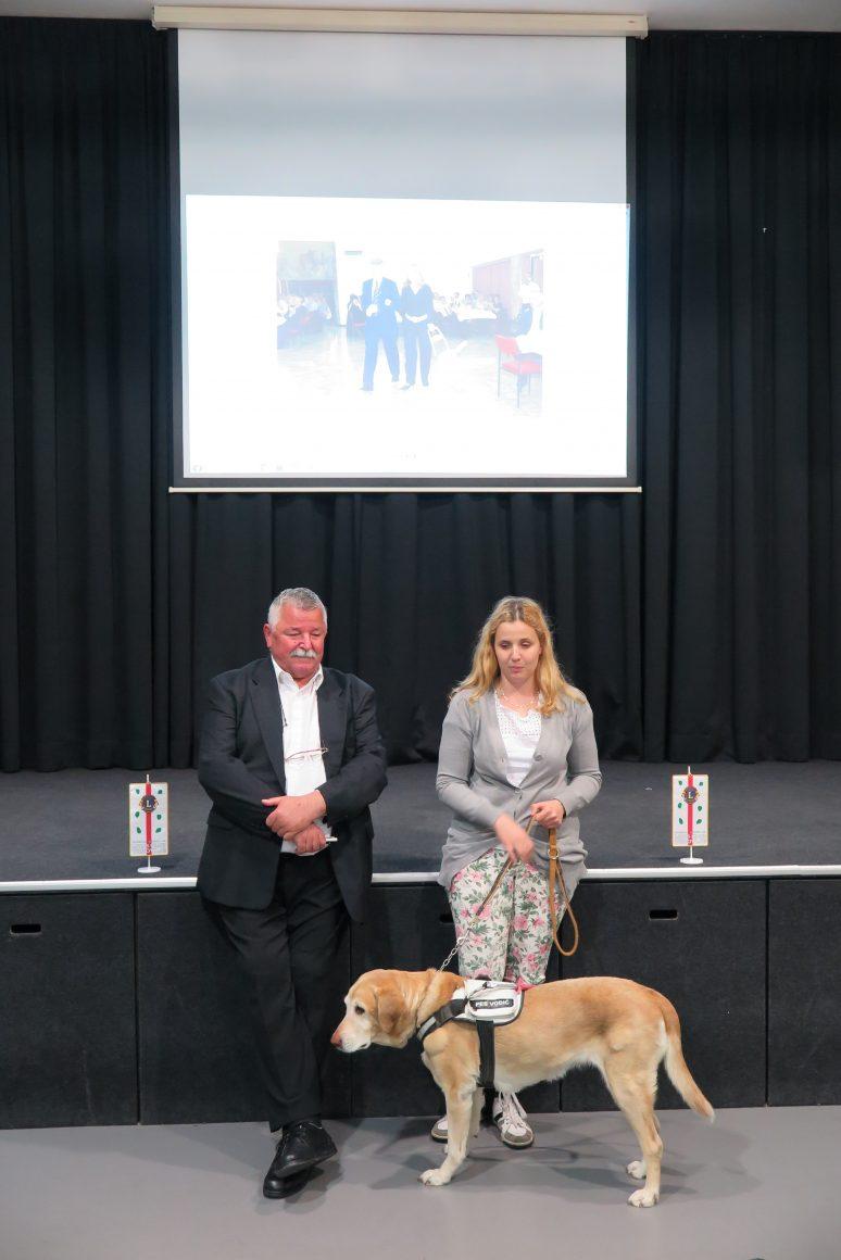 Predavanje o dobrobitih psov vodičev