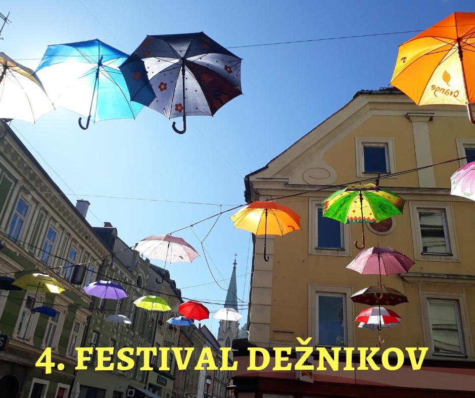 4. Festival dežnikov v Celju