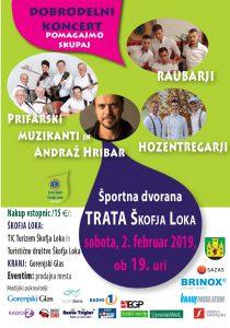 Dobrodelni koncert LK Škofja Loka 2. februar 2019