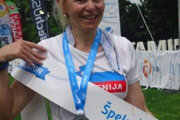 Ultramaratonka Špela Šavs