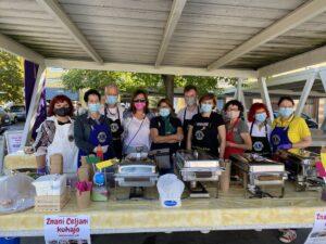 Celjski ravnatelji kuhali in pomagali otrokom z rakom