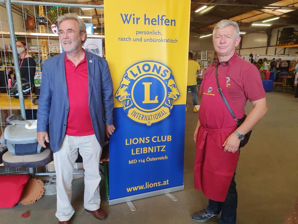 Delegacija Lions kluba Maribor je obiskala botrski klub Lipnica