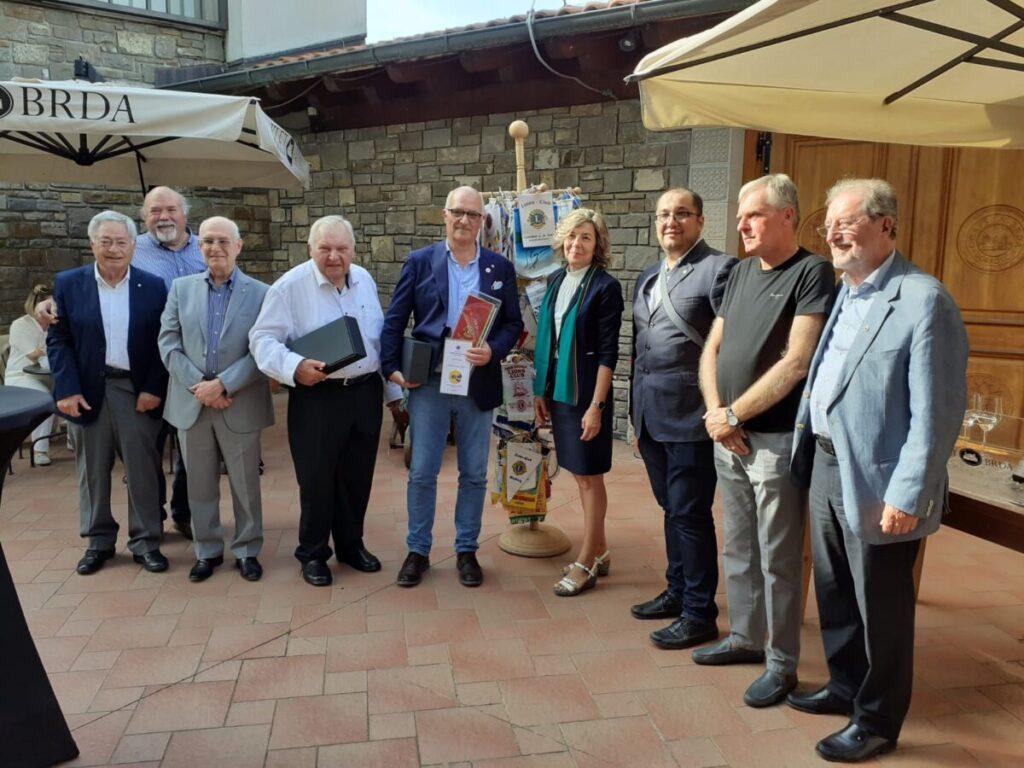 Bavarski Lions na obisku v Sloveniji