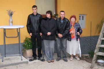 Družina Dolar iz Stranic se seli v nov dom